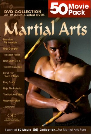 50 movie Pack Martial Arts