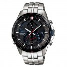 CASIO EQS A500RB-1A Stylish Multi-function Polished Stainless Steel Case Quartz Movement Watch