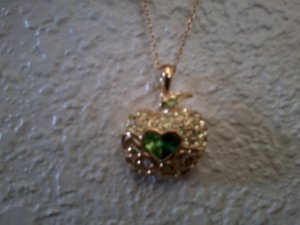 Apple pendant and chain