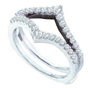 1/2cttw diamond ring guard/wrap