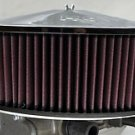 DUAL IMPCO 425 AIR CLEANER FILTER HEAVY DUTY ALUMINUM MOUNT HIGH FLOW K&N HOLLEY