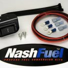 PROPANE DUAL FUEL SWITCH KIT DASH MOUNTED ALTERNATIVE FUELS TOGGLE ROCKER GAS NG