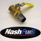 "NEW 3/4"" NPT BALL VALVE LOCKOFF LOCK OFF PRESSURE PROPANE NATURAL 039-122 LP GAS"