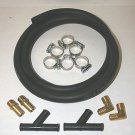 BYPASS KIT FOR IMPCO COBRA, J, E & L PROPANE CONVERTERS WITH BRASS FITTINGS