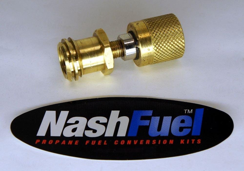 Forklift liquid propane tank to vapor appliance adapter