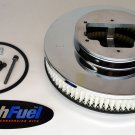 ADAPTER & EDELBROCK AIR CLEANER FILTER  KIT FOR WEBER 32/36/38 CARBURETOR 5-1/8