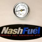 PRECISION INSTRUMENT HIGH PRESSURE GAUGE DIAL 0-30 PSI PROPANE AIR COMPRESSOR