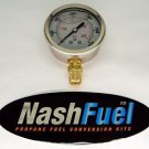 0-6000 PSI HIGH PRESSURE GAUGE DIAL CNG NATURAL GAS NPT COMPRESSED PUMP FLUID