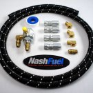 TANK TO REGULATOR PROPANE HOSE SUPPLY KIT AUTOGAS FLARE LPG LIQUID VAPOR 10FT