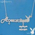 AUTHENTIC Aquarius Playboy Necklace