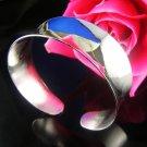 925 SILVER Mirror Cuff Bracelet
