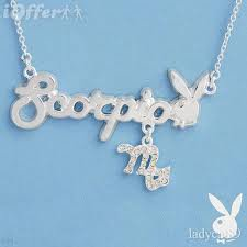 AUTHENTIC Scorpio Playboy Necklace