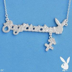 AUTHENTIC Sagittarius Playboy Necklace