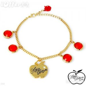 AUTHENTIC CRYSTAL APPLE BOTTOMS BRACELET