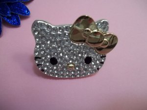 "SANRIO ""HELLO KITTY"" RING SIZE 6"