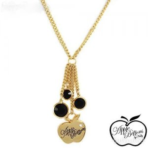 AUTHENTIC APPLE BOTTOMS DANGLE NECKLACE