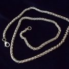MENS 24 INCH STAINLESS STEEL CHAIN NECKLACE