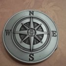 COMPASS BELT BUCKLE