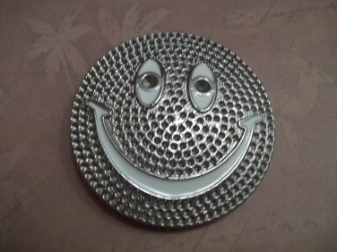 HAPPY FACE BELT BUCKLE