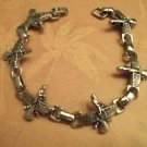 **Stainless Steel Healing Ancient God Bracelet**