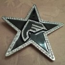 LARGE RHINESTONE STAR BELT BUCKLE