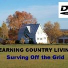 Backwoods Country Living Off the Grid DVD Solar H2O Hydro Power Homesteading Sustainable Home