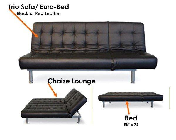 TRIO SOFA BED
