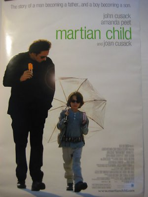 MARTIAN CHILD,TEASER MOVIE THEATER POSTER, John Cusack