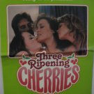 3, Three Ripening Cherries, Adult Pressbook, Rare,1979