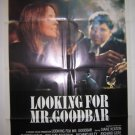 Looking For Mr GoodBar Orig Movie Poster Keaton 1977