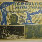 Mexican Hercules Center Of The Earth Lobby Card 1961