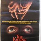 The Killing Hour , Genuine VHS Movie Poster, 1982