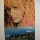 THE CLAN OF THE CAVE DARYL HANNAH,DVD MOVIE POSTER,1986