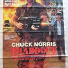 MISSING IN ACTION 3,VHS Movie Poster,Chuck Norris