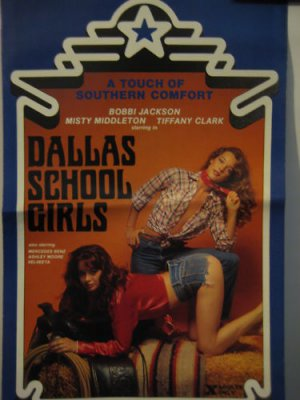 Dallas School Girls, Adult Pressbook,RARE,1981,