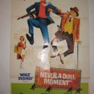 Never A Dull Moment  Orig Movie Poster, DICK VAN DYKE