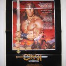 Conan The Destroyer Orig Movie Poster Schwarzenegger