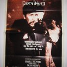 Death Wish 2 Original Theater Poster Charles Bronson