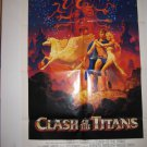 Clash Of The Titans Original Theater Poster 1 Sheet