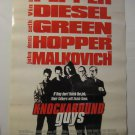 Knockaround guys, Original Movie Poster,Vin Diesel D/S
