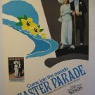 EASTER PARADE,DVD MOVIE POSTER,1986