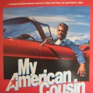 MY AMERICAN COUSIN, DVD MOVIE POSTER,1985