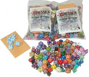 Chessex Pound of Dice (assorted mix)