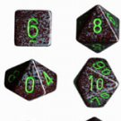 Chessex Speckled Earth 7-dice Polyhedral RPG Dice Set