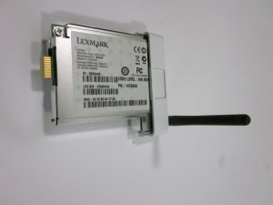 LEXMARK 14T0260 N2050 WIRELESS PRINTER NETWORK CARD