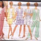 Butterick 4053 Misses / Misses Petite Vest Top Skirt Shorts Pants Sizes L XL 16-18 UNCUT