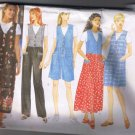 Butterick Classics 4879 Misses Jumper, Jumpsuit, Top - Sizes L XL - UNCUT