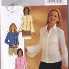 Butterick 3969 - Misses / Misses Petite Blouse - Sizes 6, 8, 10 - UNCUT / FACTORY FOLDED
