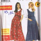 Simplicity 7445 MATERNITY Jumper - Sizes XS, S, M, L, XL - Uncut / FACTORY FOLDED