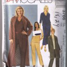 McCalls 3766 Women's & Petite Sweater Coat, Top, Pants, Skirt - Sizes 18W, 20W, 22W, 24W - UNCUT